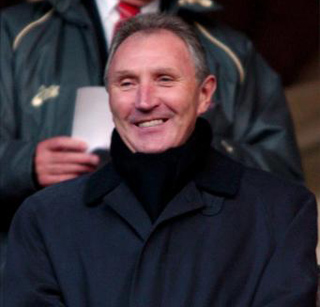 Howard Wilkinson smiling