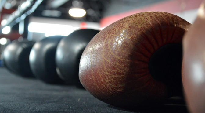 An image of boxing gloves.